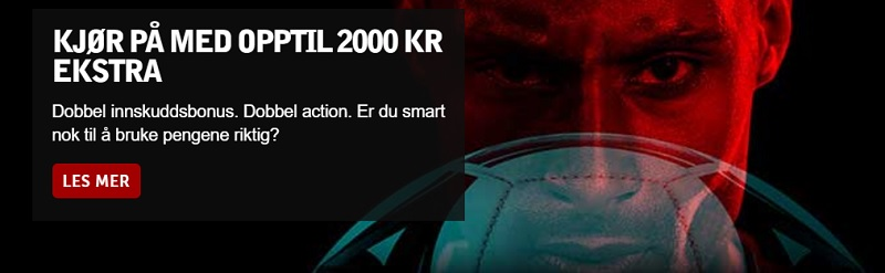Betsafe betting med 2000 kr oddsbonus